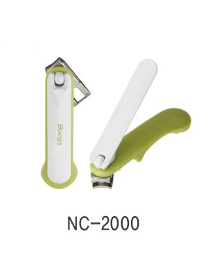 Bocas NC-2000 forgatható fejű körömcsipesz - oliva zöld