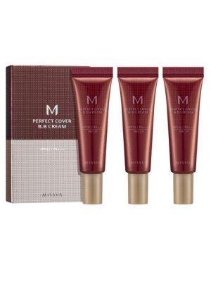 Missha M Perfect Cover BB krém 3x10ml szett