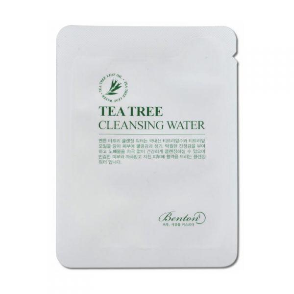 Benton teafás arctisztító folyadék minta