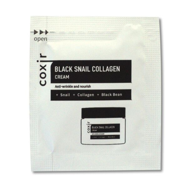 Coxir Black Snail Collagen arckrém minta