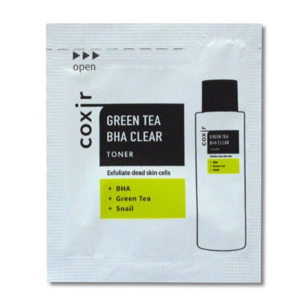 Coxir Green Tea Clear BHA toner minta