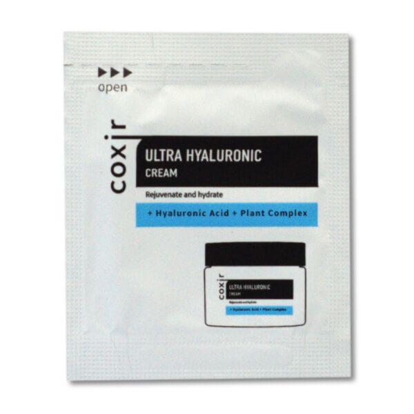 Coxir Ultra Hyaluronic mélyhidratáló arckrém minta