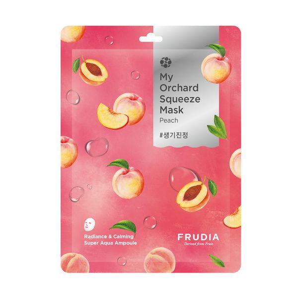 Frudia Gyümölcsöskert őszibarackos arcmaszk
