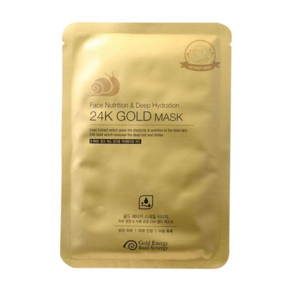 GESS Gold Snail tápláló arcmaszk