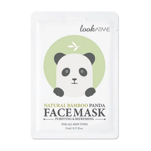 Lookatme Natural Bamboo Panda arcmaszk