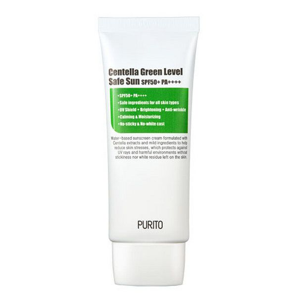 PURITO Centella Green Level Safe fényvédő SPF50+ PA++++