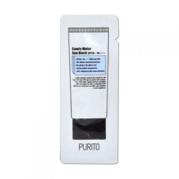 PURITO Comfy Water fényvédő minta