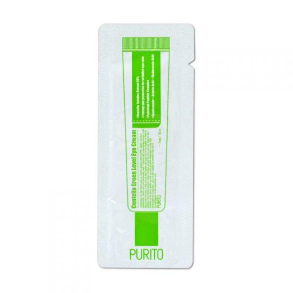 PURITO Centella Green Level szemkörnyékápoló krém minta