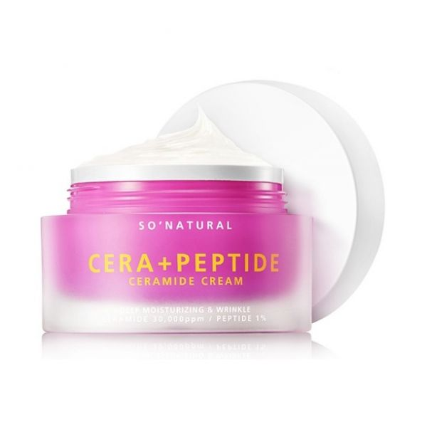 So Natural Cera Plus Peptide ceramidos arckrém