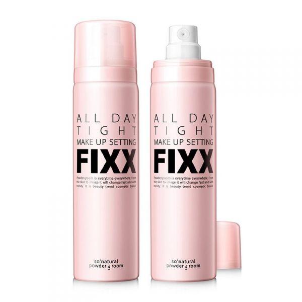 So Natural FIXX egész napos smink fixáló permet