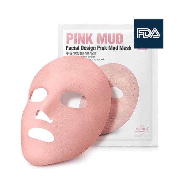 So Natural Méregtelenítő és póruskezelő Pink agyagmaszk