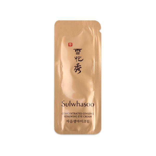 Sulwhasoo Koncentrált Ginseng szemkrém minta