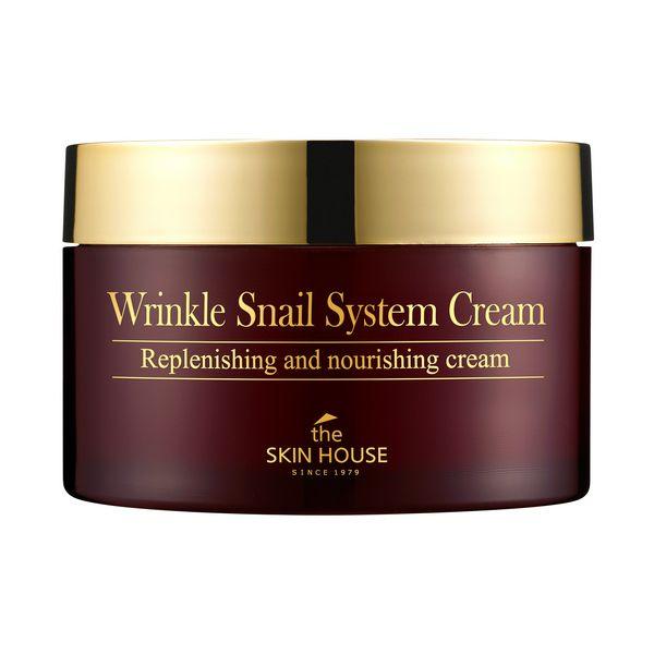 The Skin House Wrinkle Snail System bőrfeltöltő arckrém