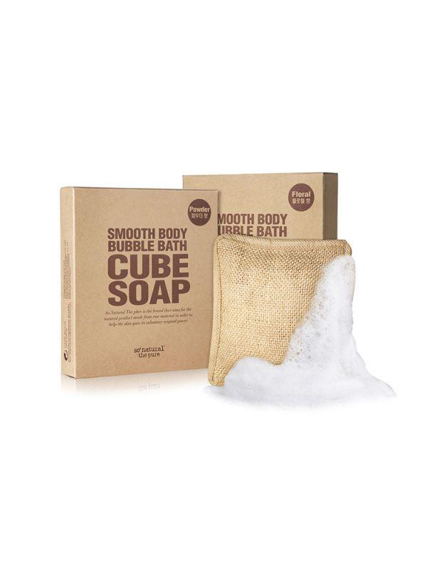 So Natural Bőrsimító testradír és tisztító szappan